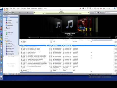 Convert audio file to .mp3 using itunes