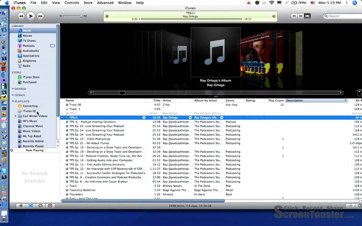 Convert audio file to  mp3 using itunes