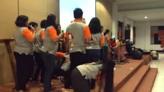 "Guru Sekolah Minggu HKBP Rawamangun Talent Show ""Menara Babel"" saat Pembinaan GSM Se-Jakarta"