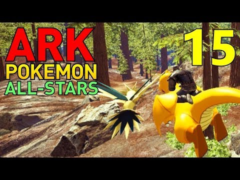 [15] Wild Zapdos Chase! (ARK Pokemon All-Stars Multiplayer)