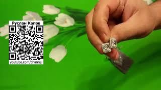 Бижутерия серьги под серебро с камнем под циркон посылка из китая