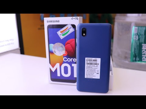 Samsung  M01 Core 2020. worst phone of 2020