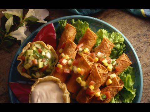receta para preparar flautas recetas de comida mexicana alimentacin saludable youtube