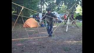 Monkey Bridge Scout Pioneering Project