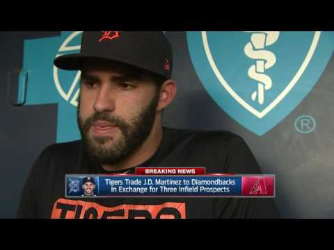 J.D. Martinez reacts to trade