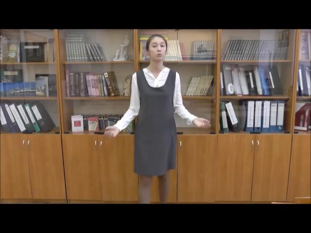 Изображение предпросмотра прочтения – АдиляСитдикова читает произведение «Некрасивая девочка» Н.А.Заболоцкого