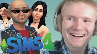 ELÄKEIKÄINEN PANOMIES | Sims4