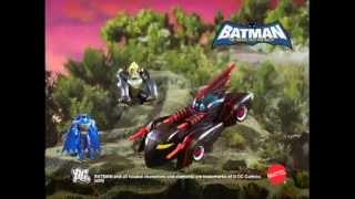 Batman  - Batmobile - The Brave and The Bold - Toy TV Commercial