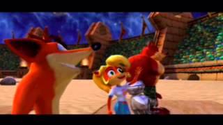 Crash Nitro Kart: Team Bandicoot All Cutscenes - [Better Quality]