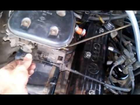 como regular as válvulas de um motor CHT 4 parte