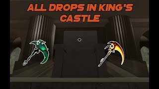 Roblox Guides - HOW TO GET ALL DROPS IN KING'S CASTLE | DUNGEON QUEST