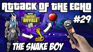 The Snake Boy & The Forbidden Fruit - Attack Of The Echo #29 - Fortnite Battle Royale TROLLING