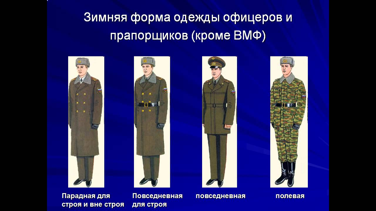 Военная одежда рф