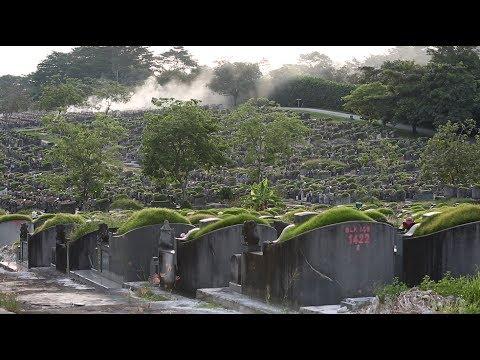 Exhumation at Choa Chu Kang Cemetery