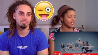 The Evolution of Taylor Swift - REACTION