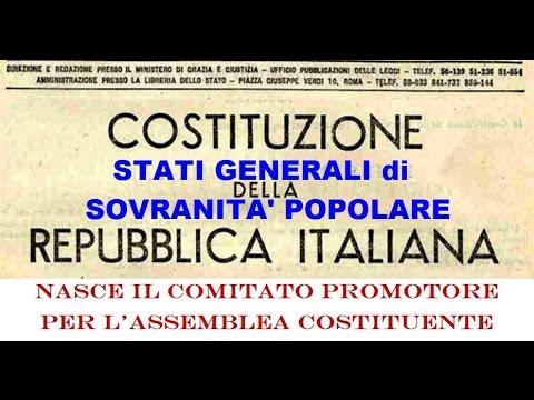 Stati generali di Sovranità Popolare. In diretta dall'Aquila. 19/02/2016