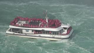 Hornblower Cruise at Niagara Falls Canada 4K