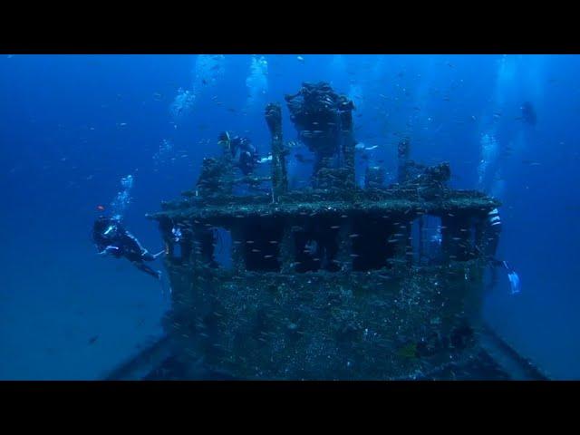 越前の沈船(Echisen Crab Boat Wreck)
