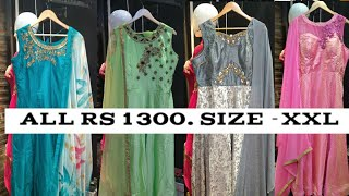 Latest Offers In XXL Designer Dress Collection | Super Collection Of Party Wear Dresses XXL Size