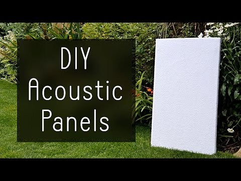 Old Towels Are the Best Material for Cheap DIY Sound Absorption Panels