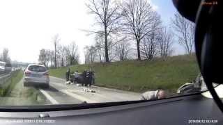 Wypadek Będzin 12.04.2014