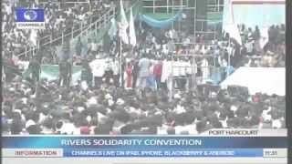 Governor Amaechi's 'dance Moves' Delight Supporters