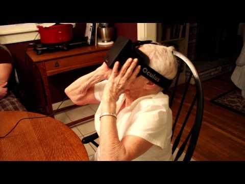 Oculus Rift, as tested by a 90-year-old grandma