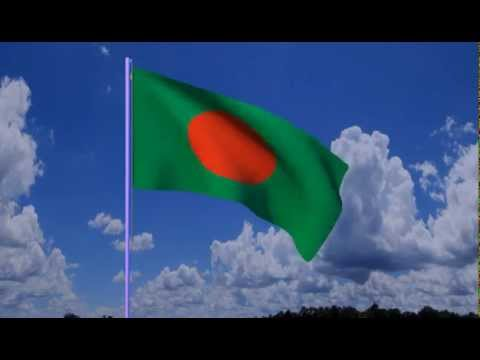 National Flag of Bangladesh created with Blender 2.76