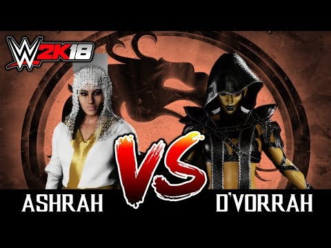 #08 WWE2K18: ASHRAH VS D'VORRAH [TORNEIO DO MORTAL KOMBAT NO WW2K18] thumbnail