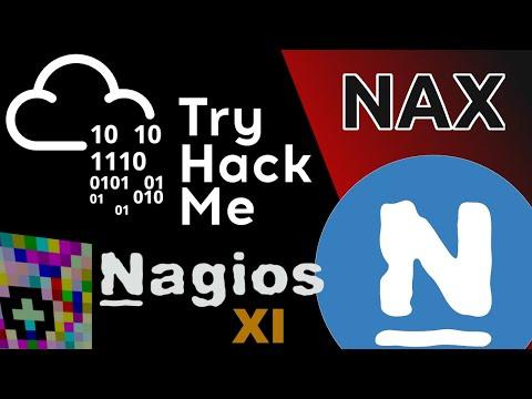 TryHackMe! Exploiting Nagios XI - NAX