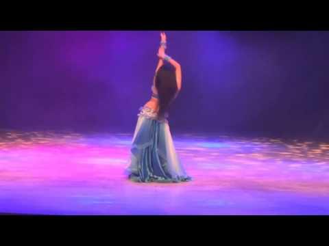 красивый танец живота от Алекс ДелораAlex DELORA, Baladi in Korea