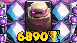 RANKED #1 in the WORLD w/ GOLEM! He's INSANE! (5 Tips for Success)