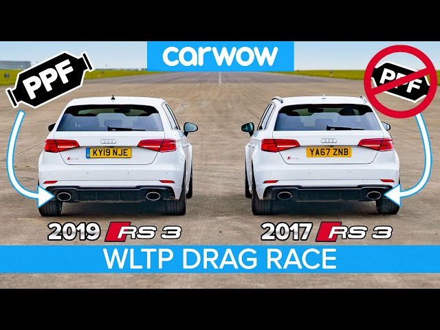 Audi RS3 2020 vs 2017: DRAG RACE & DYNO TEST... have the new emissions regs ruined performance cars?
