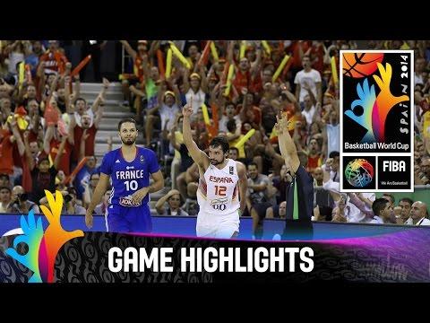 Spain v France - Game Highlights - Group A - 2014 FIBA Basketball World Cup