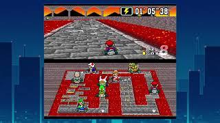 Super NINTENDO :) Super Mario Kart und Star Fox Kind heit auf Leben lassen ;)