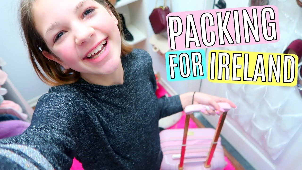 57a63de6b8d0be Shopping and Packing Vlog for an International Trip - YouTube