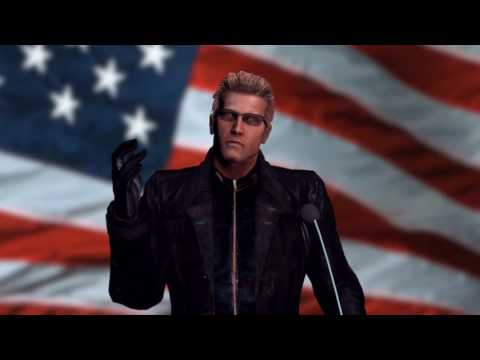 Albert Wesker Quotes Donald J. Trump On Inauguration