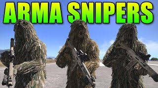 Arma 3 Sniper Team - Epic Sniping Gameplay