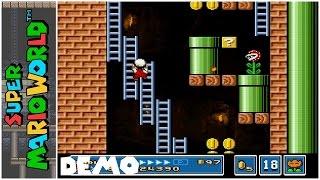 Super Mario Bros. 2: Mega Mario X (Demo) (2015) | Super Mario World Hack