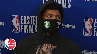 Marcus Smart: Celtics got complacent late in Game 1 loss to Heat | 2020 NBA Playoffs