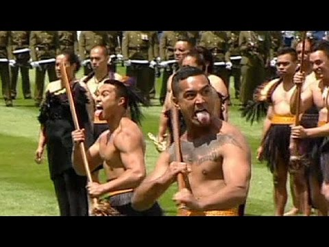 Traditional Haka welcome for Chinas president in New