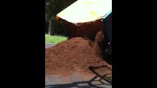 The epic dump of all mulch