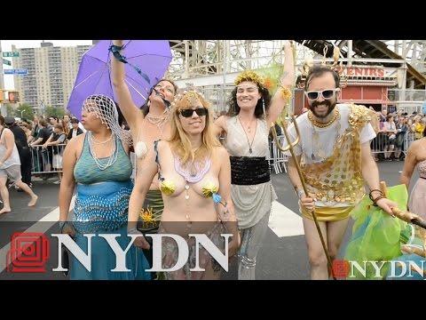 2015 Coney Island Mermaid Parade