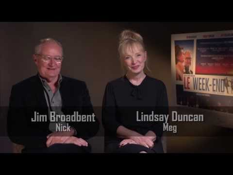 Jim Broadbent and Lindsay Duncan Interview - Le Week-End