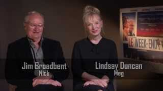 Jim Broadbent and Lindsay Duncan Interview - Le Week-End