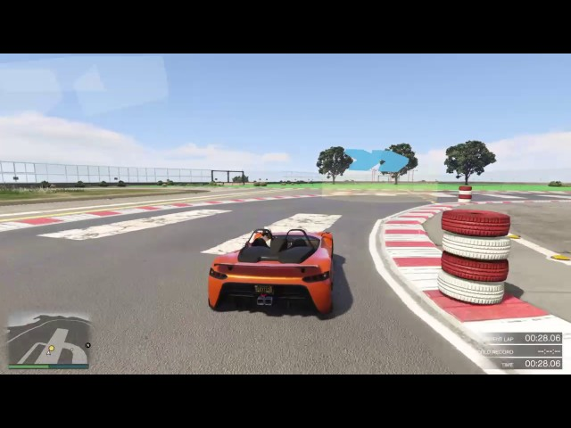 VS Top Gear Test Track - GTA PS4 Job link in the description