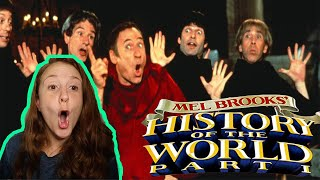 History of the World Part 1 * FIRST TIME WATCHING * Reaction * Millennial Movie Monday