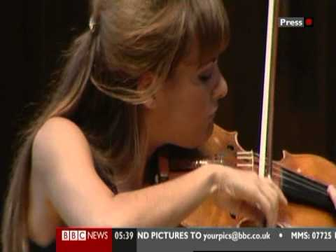 On the Road with....Nicola Benedetti Part 1.mpg