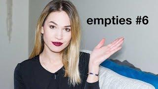 Empties # 6 - Makeup & Beauty I
