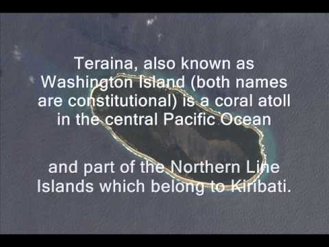 T32TV Teraina Island Washington Island